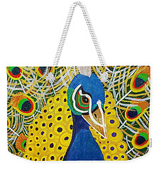 The Eye Of The Peacock Weekender Tote Bag