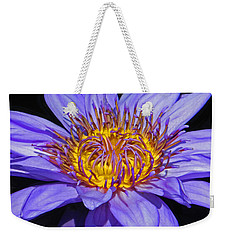 The Eye Of The Water Lily Weekender Tote Bag