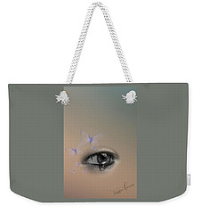 The Eyes Don't Lie Weekender Tote Bag
