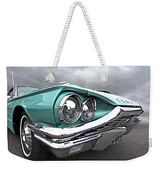 The Eyes Have It - 1964 Thunderbird Weekender Tote Bag by Gill Billington