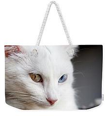 The Eyes Weekender Tote Bag by Jorge Maia