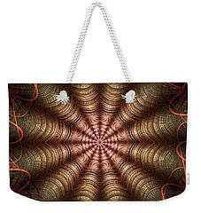 The Fabric Of The Space-time Continuum Weekender Tote Bag