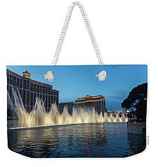 The Fabulous Fountains At Bellagio - Las Vegas Weekender Tote Bag