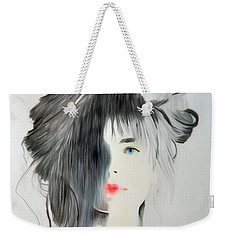 The Face - Digitalart Weekender Tote Bag
