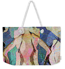 The Face In The Crowd Weekender Tote Bag by Ed Hall
