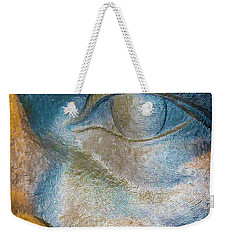 The Face Is A Picture Of The Mind With The Eyes As Its Interpreter. Cicero Weekender Tote Bag