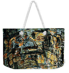 The Face Of The Buddha Weekender Tote Bag