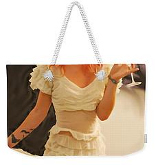The Face Series - Cecilia - Digitalart Weekender Tote Bag