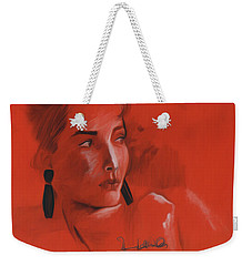 The Face Series - Kelly Weekender Tote Bag