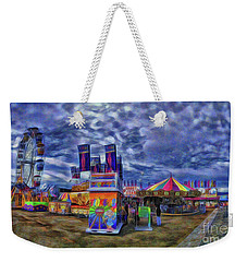 Weekender Tote Bag featuring the photograph The Fair by Dave Luebbert