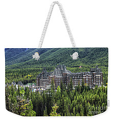 The Fairmont Banff Springs Weekender Tote Bag