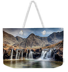 Weekender Tote Bag featuring the photograph The Fairy Pools - Isle Of Skye 3 by Grant Glendinning