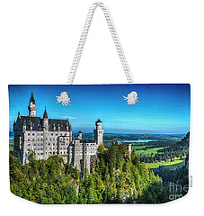 The Fairy Tale Castle Weekender Tote Bag by Pravine Chester
