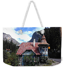The Fairy Tale House  Weekender Tote Bag
