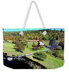 The Fall Colors Of Sleepy Hollow Weekender Tote Bag by Joseph Hendrix