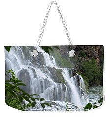 The Falls Of Fall Creek Weekender Tote Bag