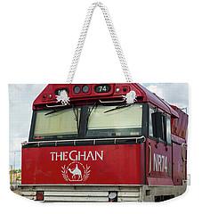 The Famed Ghan Train  Weekender Tote Bag