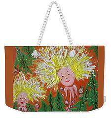 Family 2 Weekender Tote Bag