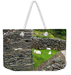Weekender Tote Bag featuring the photograph The Family by Patricia Griffin Brett
