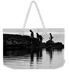 The Family That Plays Together Weekender Tote Bag by John Glass