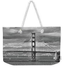 The Famous Golden Gate Bridge  Weekender Tote Bag by Scott Cameron