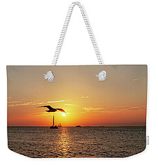 The Famous Key West Sunset  Weekender Tote Bag