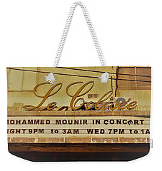 The Famous Le Colisee Cinema In Beirut Weekender Tote Bag by Funkpix Photo Hunter