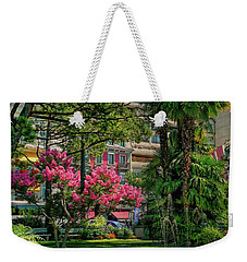 Weekender Tote Bag featuring the photograph The Fancy Swiss South-west by Hanny Heim