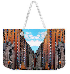 Weekender Tote Bag featuring the photograph The Fantacity by Matt Harang
