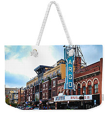 The Fargo Theater Weekender Tote Bag