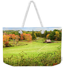 The Farm In The Dell Weekender Tote Bag