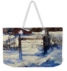 The Farm On Barry Weekender Tote Bag by Sandra Strohschein