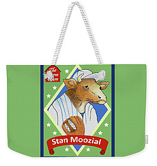 The Farm Team - Stan Moozial Weekender Tote Bag
