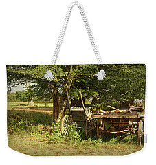The Farmers Carts Weekender Tote Bag