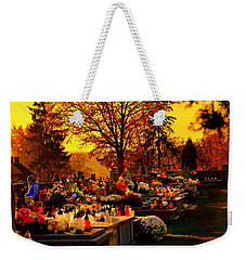 The Feast Of The Dead Weekender Tote Bag