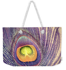 The Feather In Colour Weekender Tote Bag
