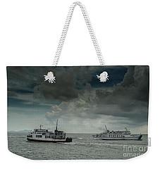 The Ferries Weekender Tote Bag by Michelle Meenawong
