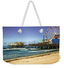The Ferris Wheel - Santa Monica Pier Weekender Tote Bag