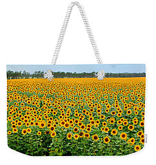 The Field Of Suns Weekender Tote Bag