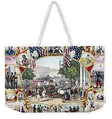 The Fifteenth Amendment Weekender Tote Bag