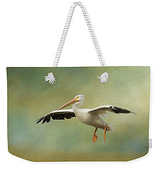 Weekender Tote Bag featuring the photograph The Final Approach by Kim Hojnacki