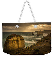 Weekender Tote Bag featuring the photograph The Fire Sky by Andrew Matwijec