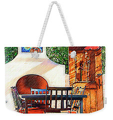 The Fireplace, Table And Door Weekender Tote Bag