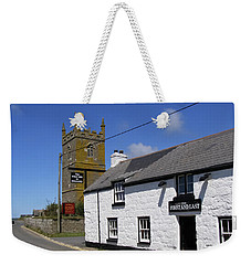 Weekender Tote Bag featuring the photograph The First And Last Inn In England by Terri Waters