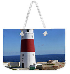 The First And Last Lighthouse On The Continent Of Europe Weekender Tote Bag