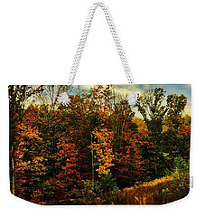 The First Days Of Fall Weekender Tote Bag