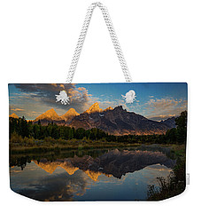 The First Light Weekender Tote Bag by Edgars Erglis
