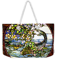 The Fish Weekender Tote Bag by Joseph Skompski