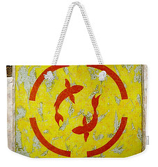 The Fishes Weekender Tote Bag