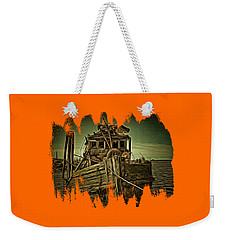 Weekender Tote Bag featuring the photograph Mary D. Hume Shipwreak by Thom Zehrfeld